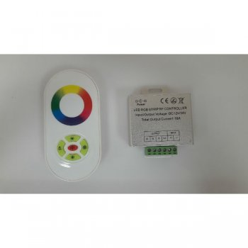 Контроллер сенсорный RGB-18A-216/432W-12,24V-IP50 Touch